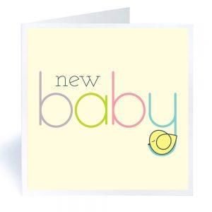 baby geboortekaart